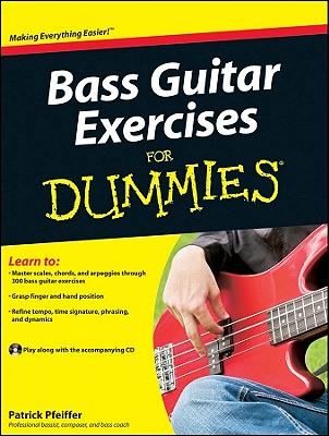 Bass Guitar Exercises for Dummies By Pfeiffer, Patrick
